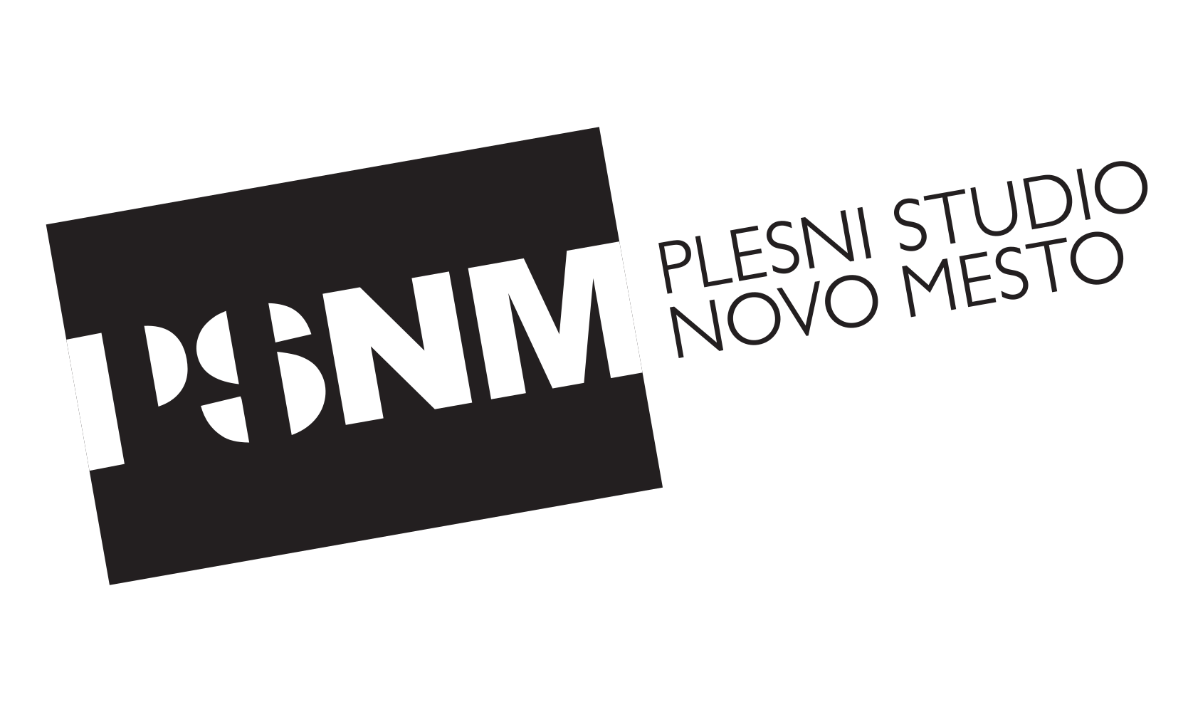 Plesni studio Novo mesto - logo