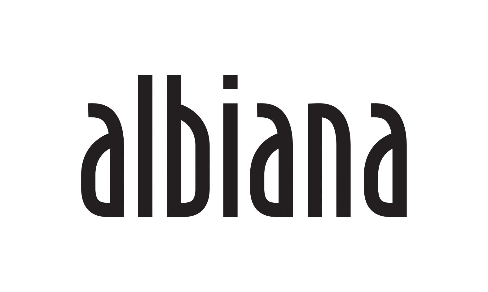 Albiana - logo