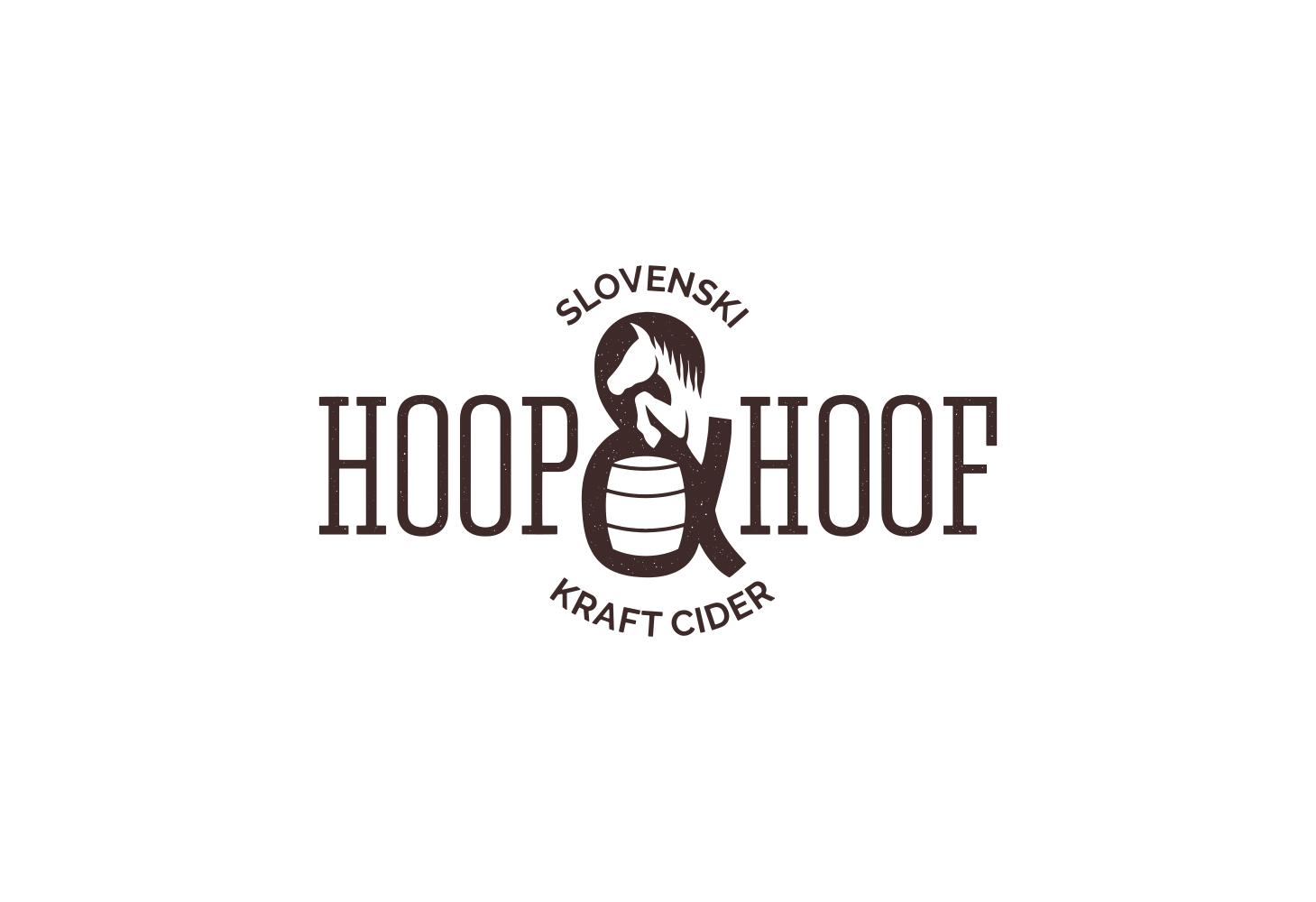 Hoop & Hoof Cider - logo